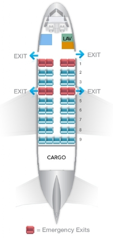 Dash-8-100-Seating-Plan