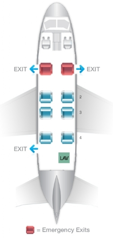 King-Air-350-Seating-Plan